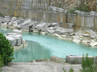 Water in the Quarry