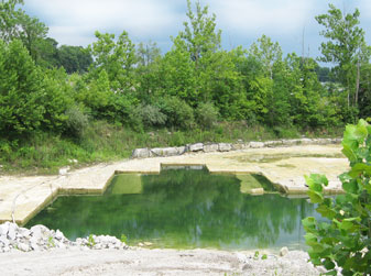 Quarry Filled with Water